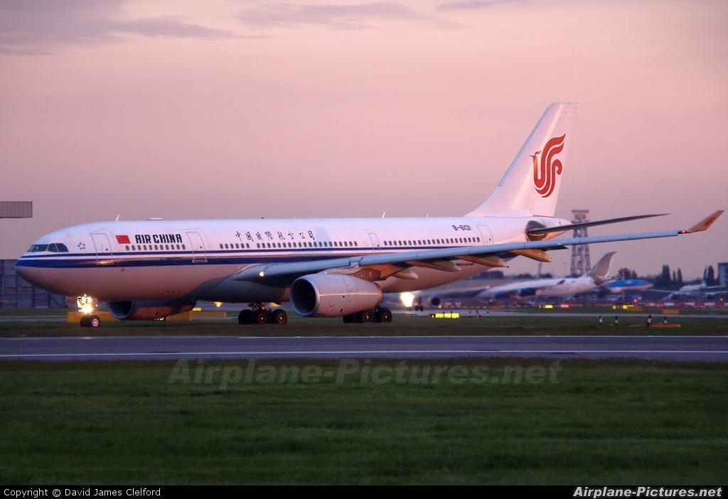 Air China B-6131 aircraft at London - Heathrow