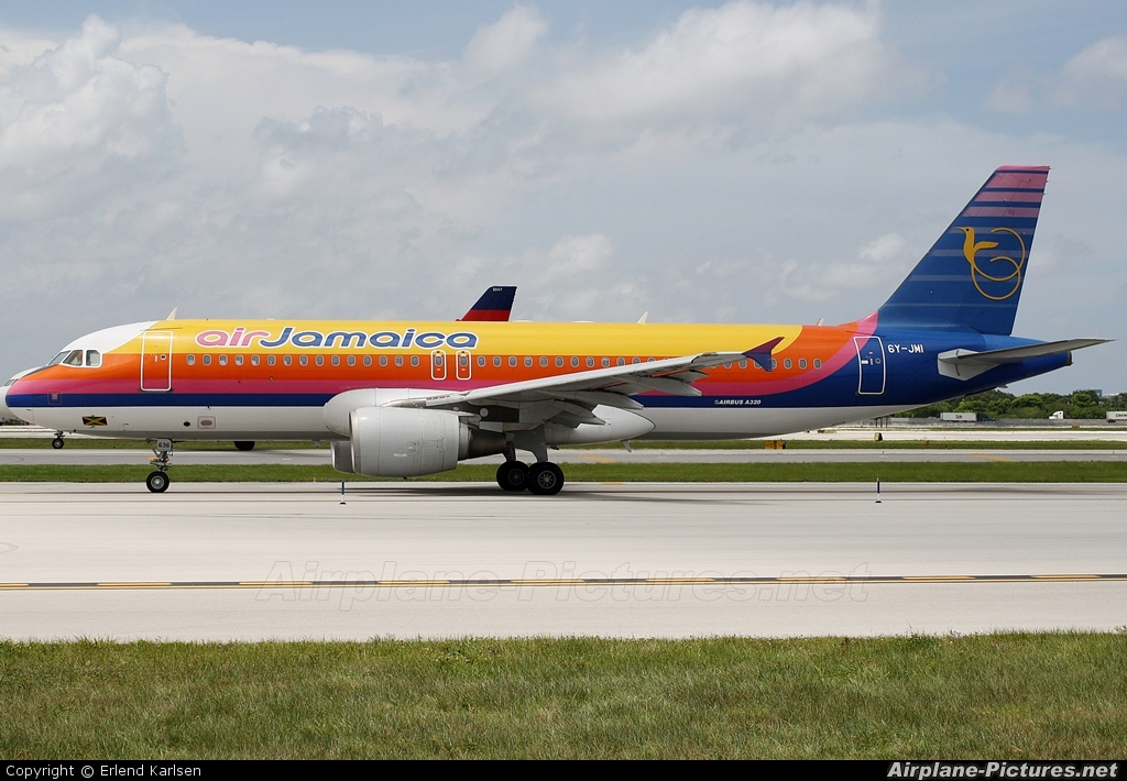 Air Jamaica 6Y-JMI aircraft at Fort Lauderdale - Hollywood Intl