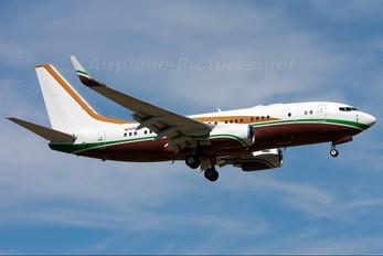 N737AG - Private Boeing 737-700