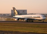 9V-SKE - Singapore Airlines Airbus A380 aircraft