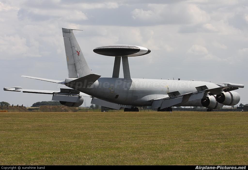 Royal Air Force ZH101 aircraft at Waddington
