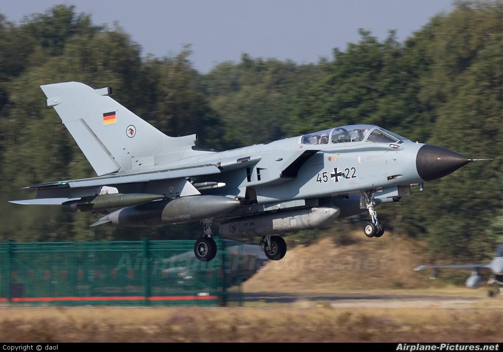 Germany - Air Force 45+22 aircraft at Kleine Brogel