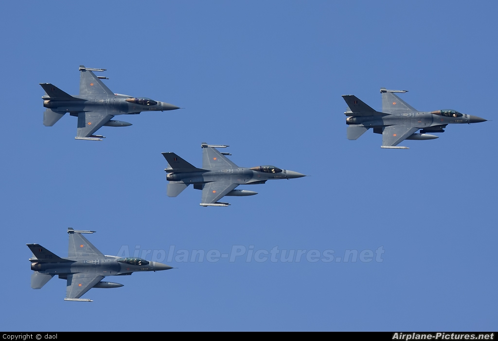 Belgium - Air Force - aircraft at Kleine Brogel