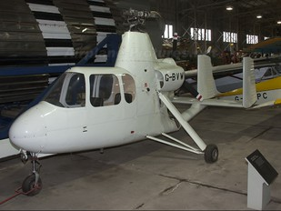 G-BVWK - Private Air and Space 18 Gyroplane