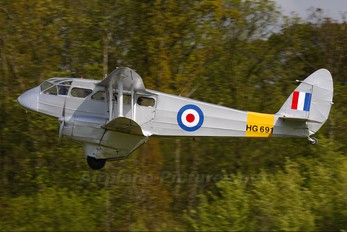 GAIYR - Private de Havilland DH. 89 Dragon Rapide