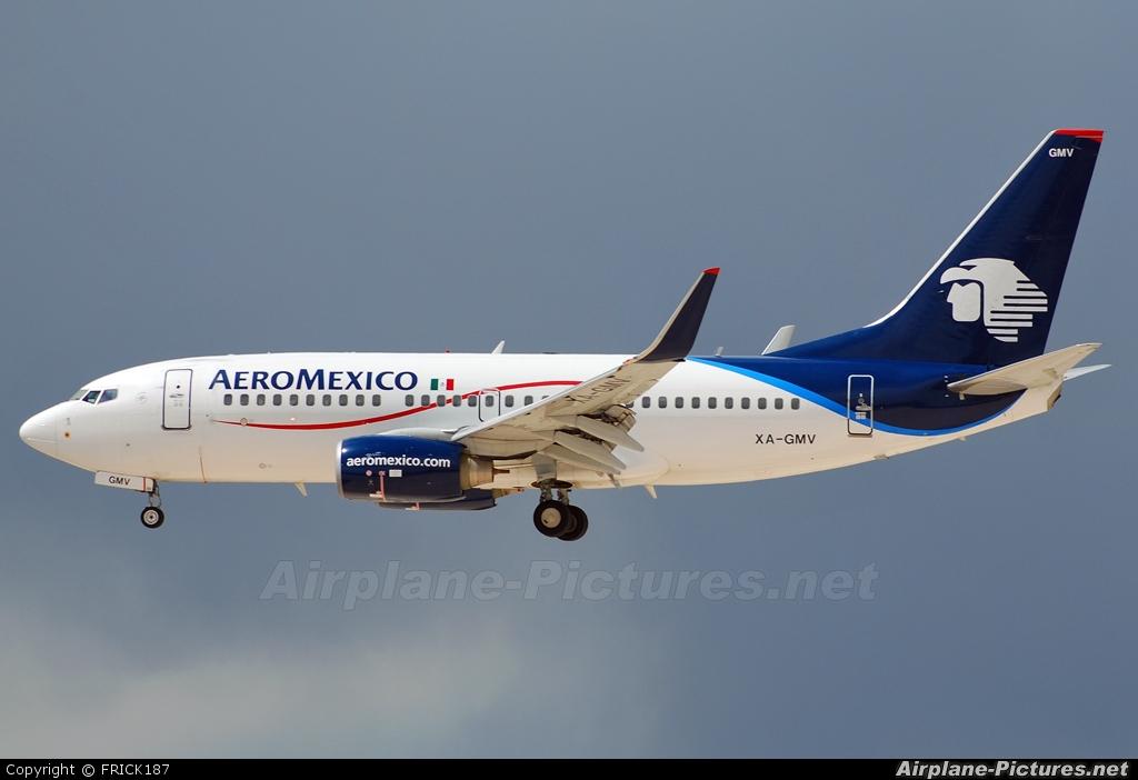 Xa Gmv Aeromexico Boeing 737 700 At Las Vegas Mccarran