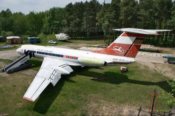 DDR-SCH - Interflug Tupolev Tu-134A