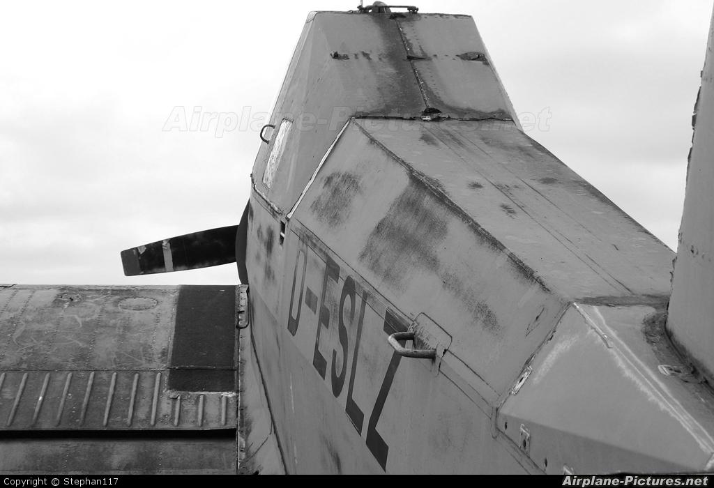Interflug D-ESLZ aircraft at Finow
