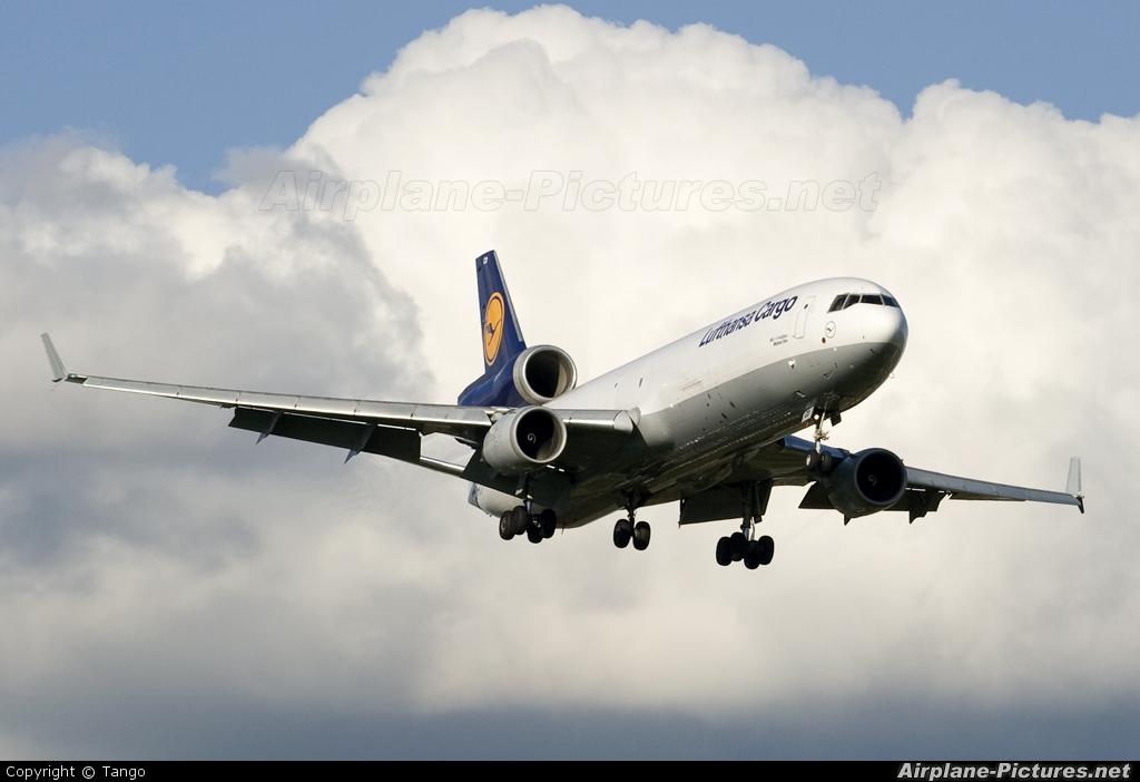 Lufthansa Cargo D-ALCD aircraft at Manchester