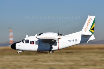 ZS-FIN - Private Piaggio P.166 Albatross (all models)