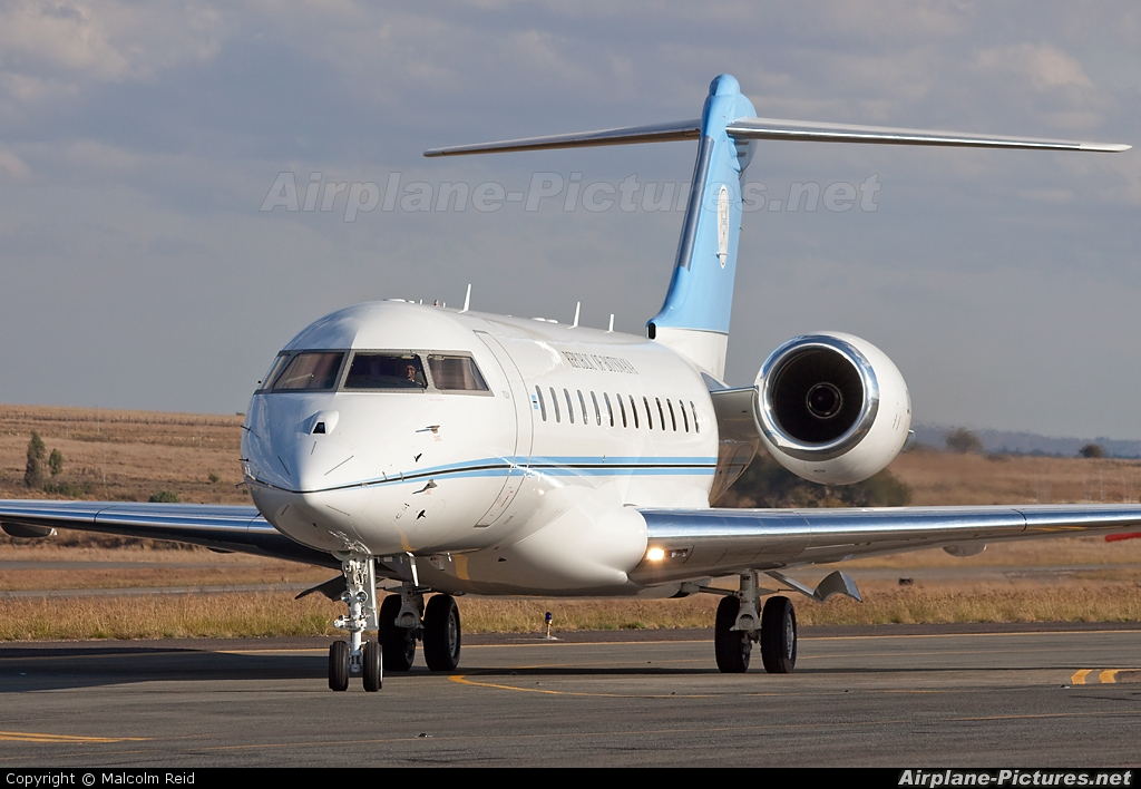 Botswana - Government OK1 aircraft at Lanseria