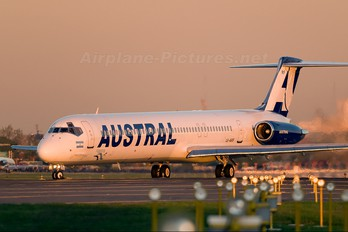 LV-ARF - Austral Lineas Aereas McDonnell Douglas MD-83