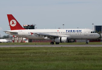 TC-JPS - Turkish Airlines Airbus A320