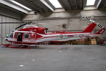 VF-72 - Italy - Vigili del Fuoco Agusta / Agusta-Bell AB 412