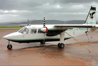 G-SEIL - Highland Airways Britten-Norman BN-2 Islander