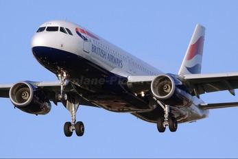 G-EUYG - British Airways Airbus A320
