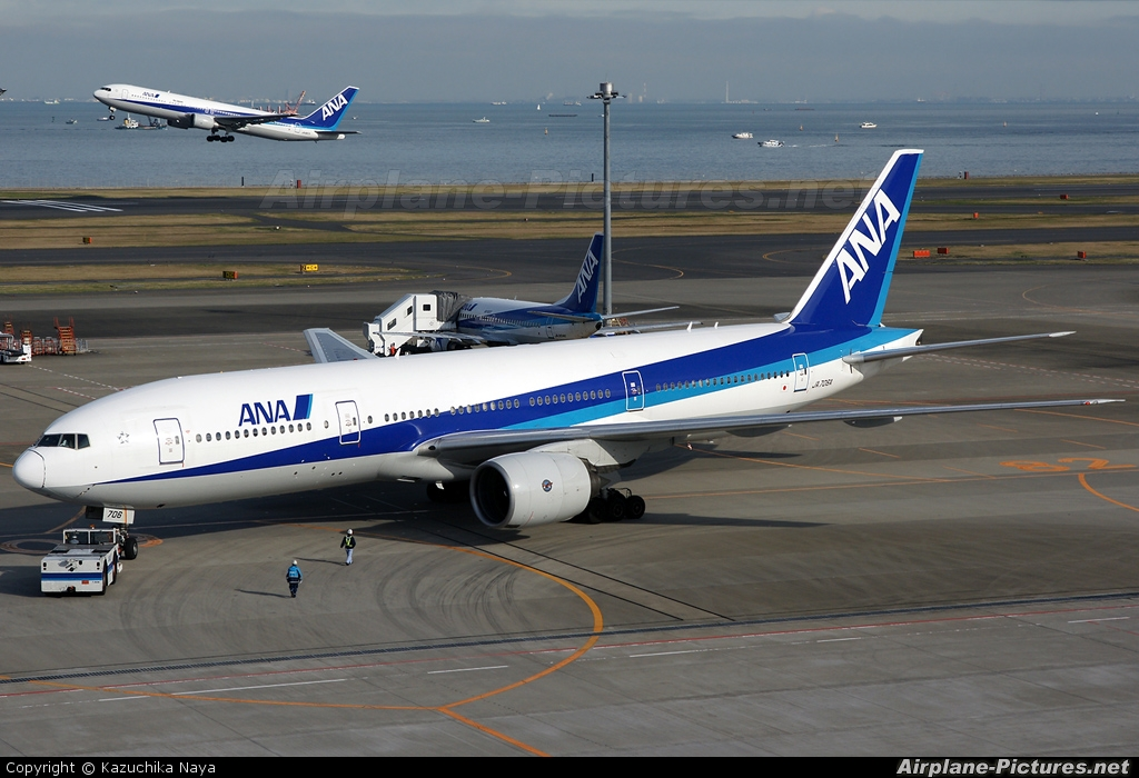 ANA - All Nippon Airways JA706A aircraft at Tokyo - Haneda Intl