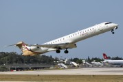 5A-LAD - Libyan Airlines Canadair CL-600 CRJ-900 aircraft