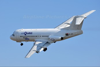 ZS-JES - Air Quarius Aviation Fokker F28