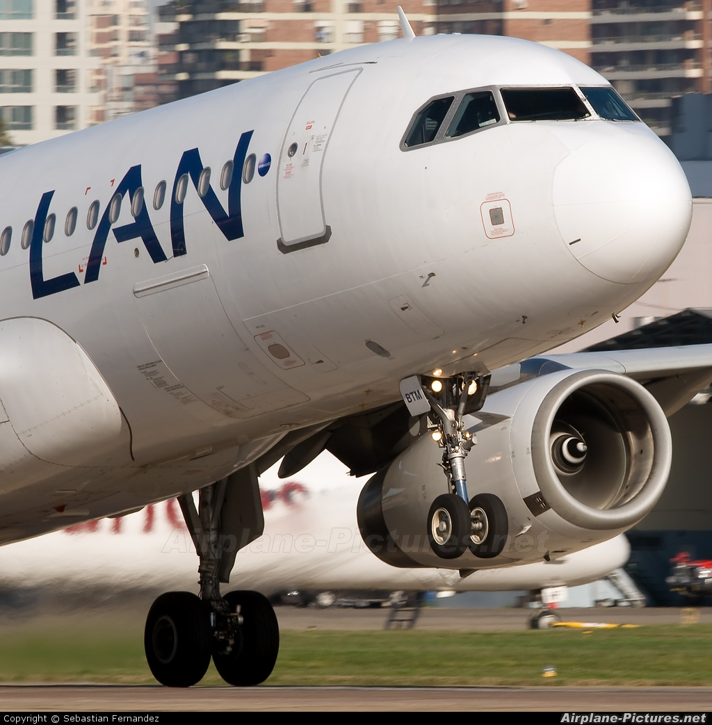 LAN Argentina LV-BTM aircraft at Buenos Aires - Jorge Newbery
