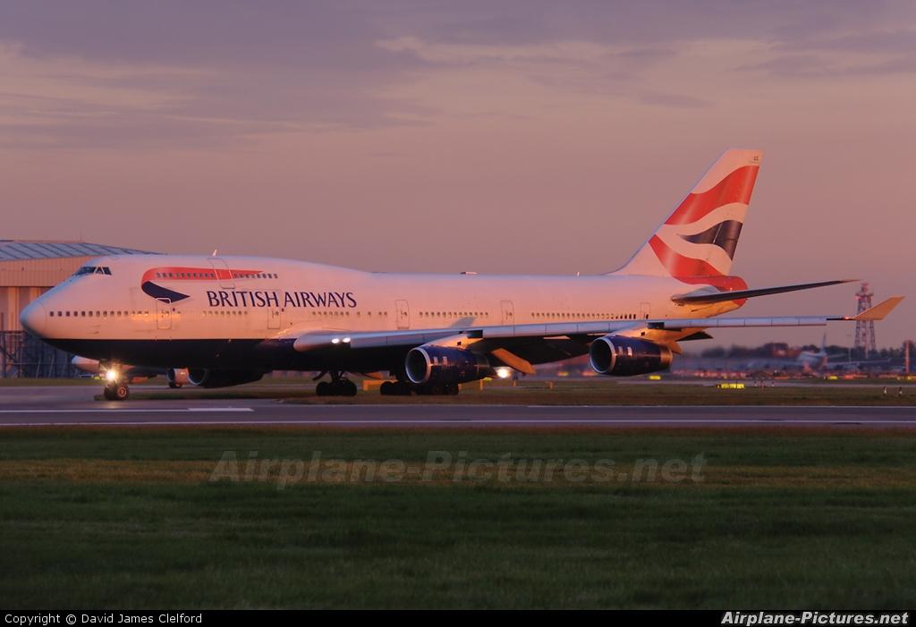 British Airways G-BYGE aircraft at London - Heathrow