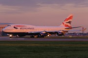 G-BYGE - British Airways Boeing 747-400 aircraft