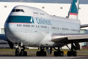 B-HOT - Cathay Pacific Boeing 747-400 aircraft