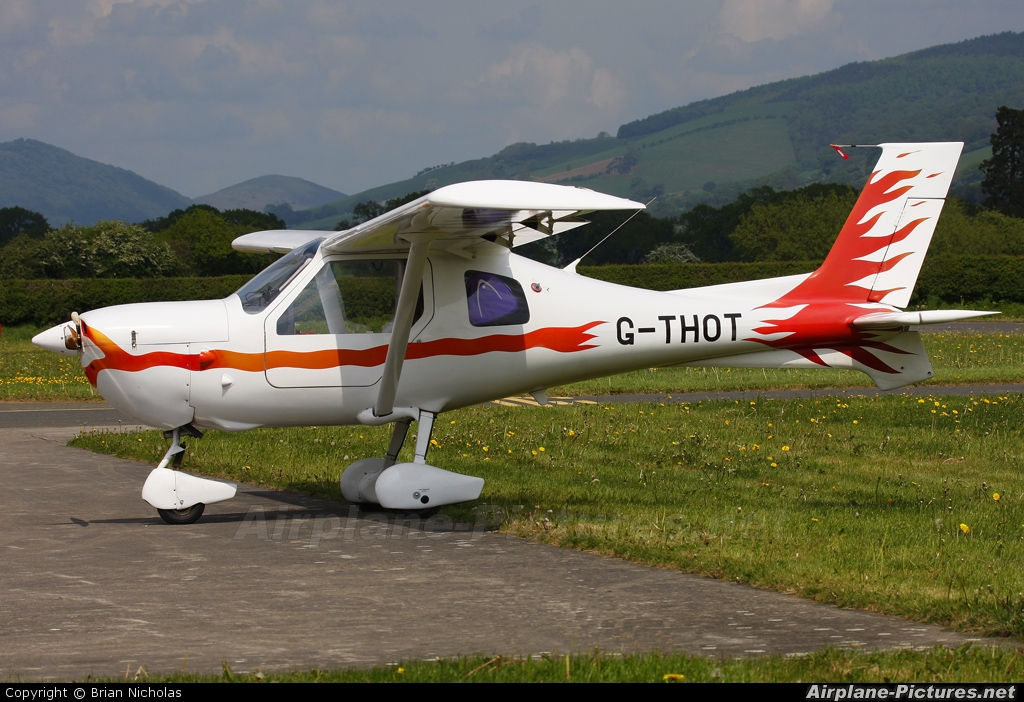 Private G-THOT aircraft at Welshpool