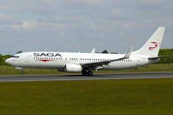 TC-SGI - Saga Airlines Boeing 737-800