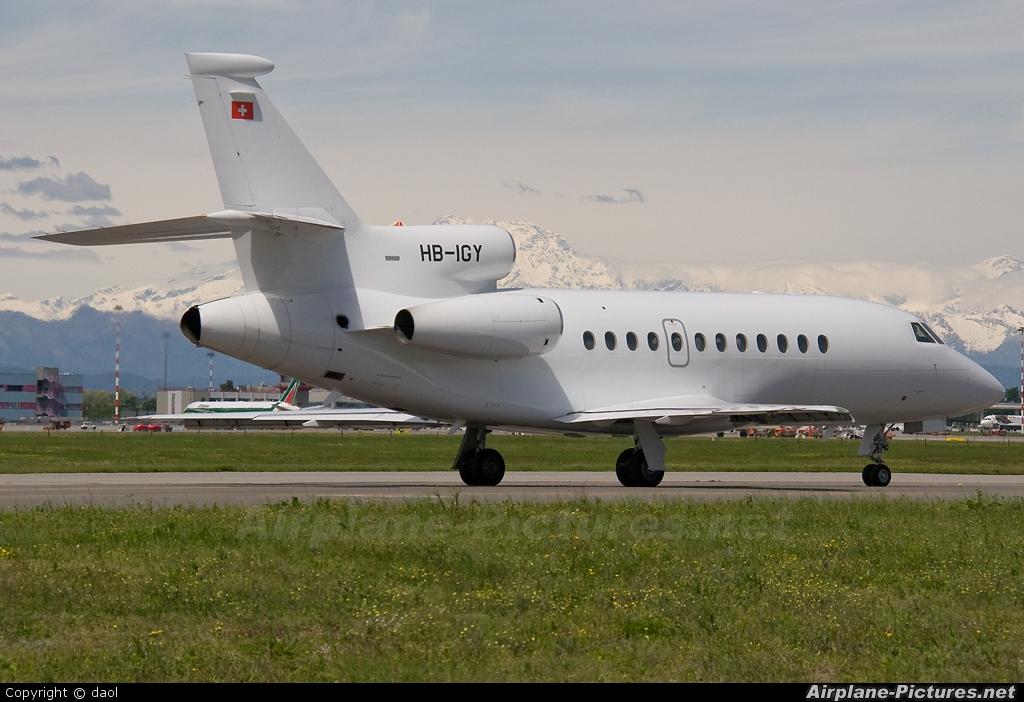 Cat Aviation HB-IGY aircraft at Milan - Malpensa