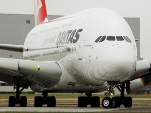 VH-OQA - QANTAS Airbus A380