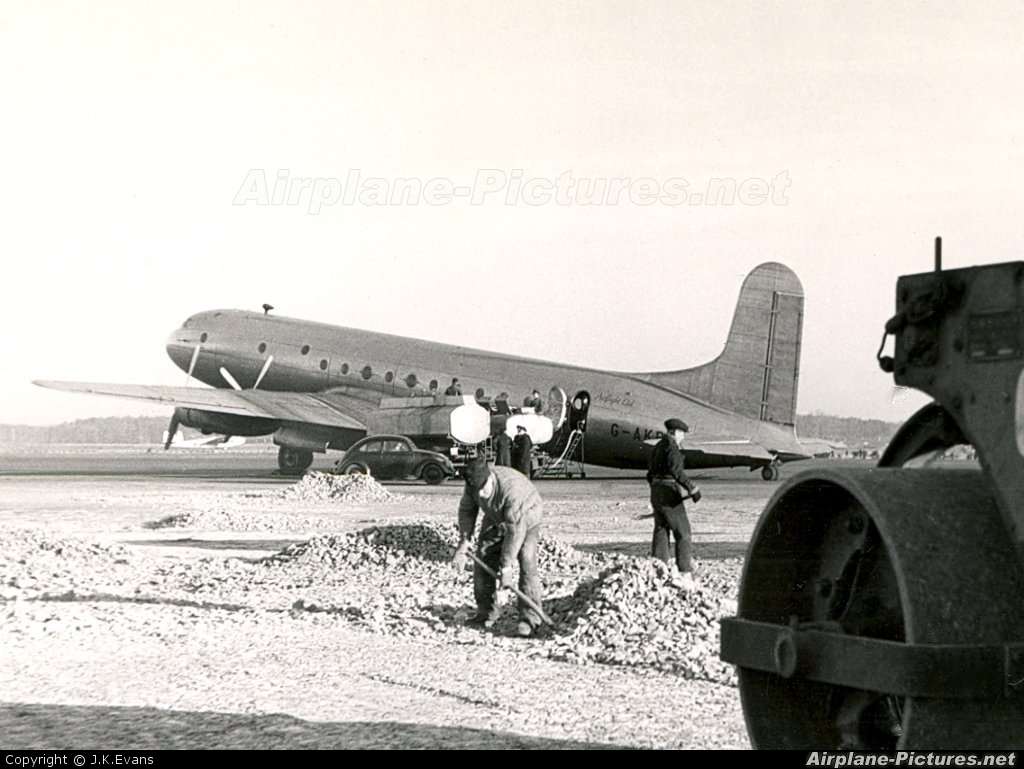 Unknown G-AKBY aircraft at Berlin - Gatow