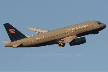 N843UA - United Airlines Airbus A319