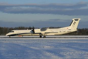 HB-JGA - Sky Work Airlines de Havilland Canada DHC-8-400Q / Bombardier Q400