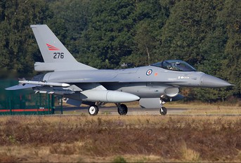 276 - Norway - Royal Norwegian Air Force General Dynamics F-16A Fighting Falcon