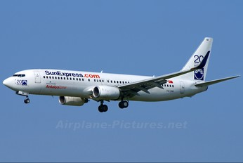 TC-SNI - SunExpress Boeing 737-800