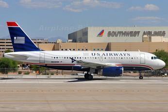 N808AW - US Airways Airbus A319
