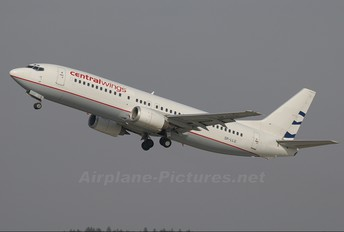 SP-LLG - Centralwings Boeing 737-400