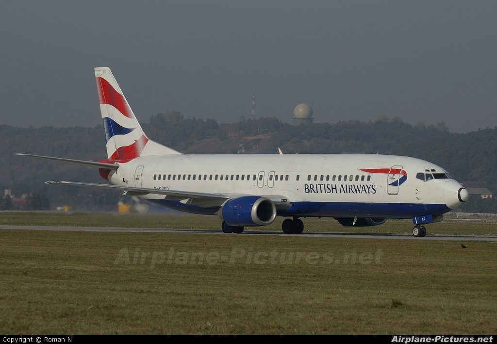 British Airways G-DOCH aircraft at Kraków - John Paul II Intl