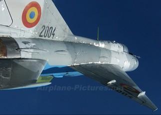 2004 - Romania - Air Force Mikoyan-Gurevich MiG-21PFM