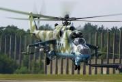 584 - Poland - Army Mil Mi-24D aircraft