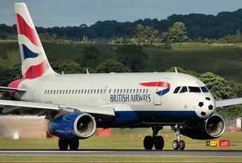 G-EUPX - British Airways Airbus A319