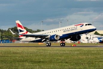 G-LCYM - British Airways - City Flyer Embraer ERJ-190 (190-100)