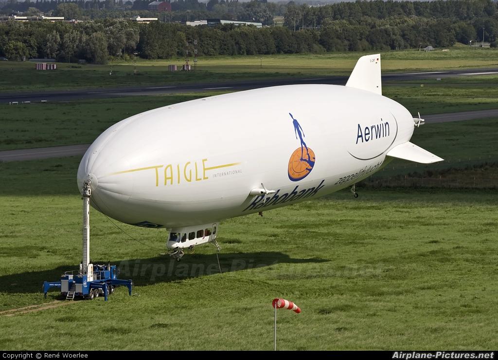 Airship Ventures D-LZNT aircraft at Rotterdam