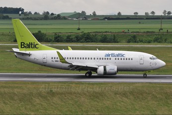 YL-BBH - Air Baltic Boeing 737-500