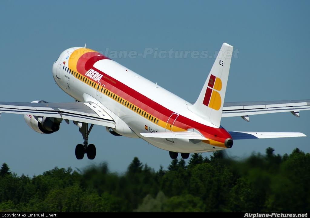 Iberia EC-ILS aircraft at Zurich