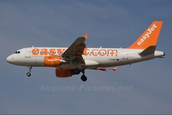 G-EZEG - easyJet Airbus A319
