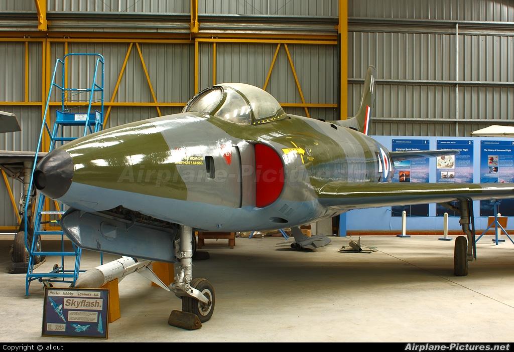 Royal Air Force WK277 aircraft at Newark Air Museum