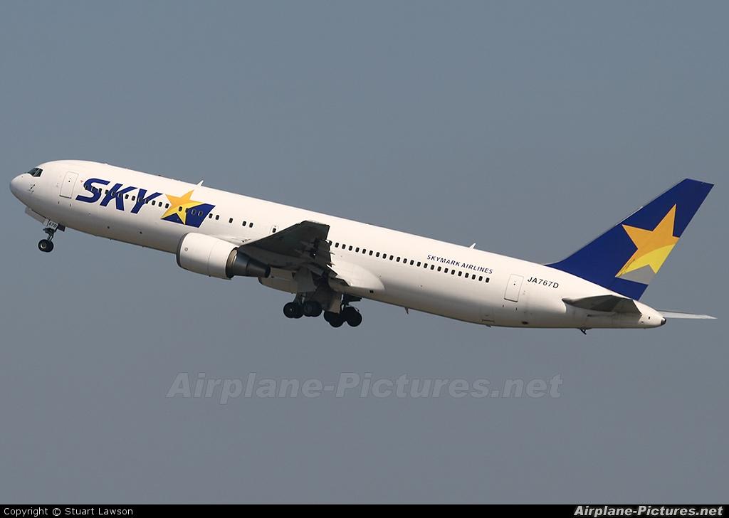 Skymark Airlines JA767D aircraft at Tokyo - Haneda Intl