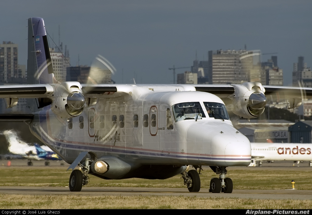 American Jet LV-WTD aircraft at Buenos Aires - Jorge Newbery